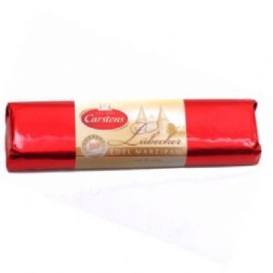 Carstens Lubecker Chocolate Covered Marzipan Bar 200g